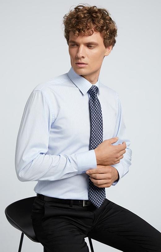 Elegancka koszula w paski LAMBERT