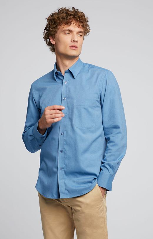 Flanelowa koszula z bawełny