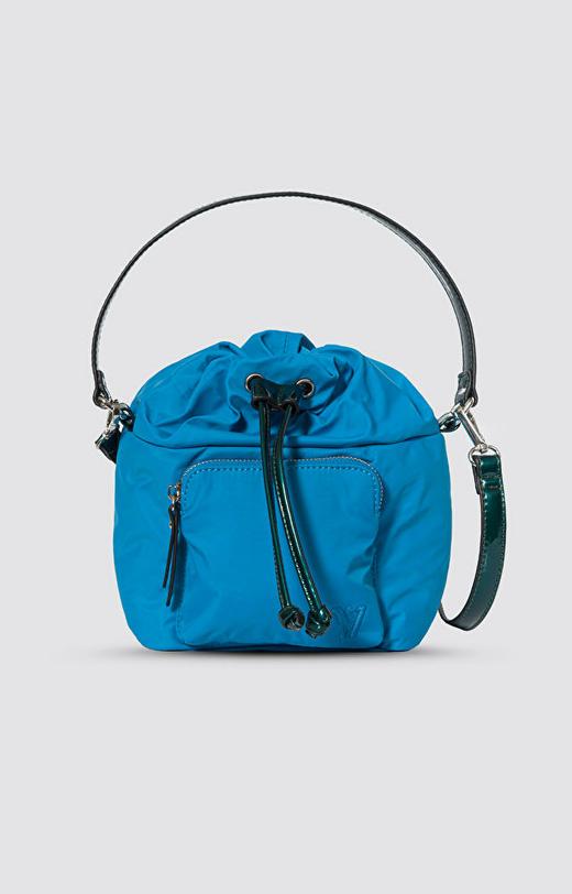 Niebieska torebka WÓLCZANKA