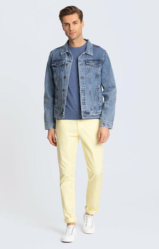 Niebieski sweter WÓLCZANKA