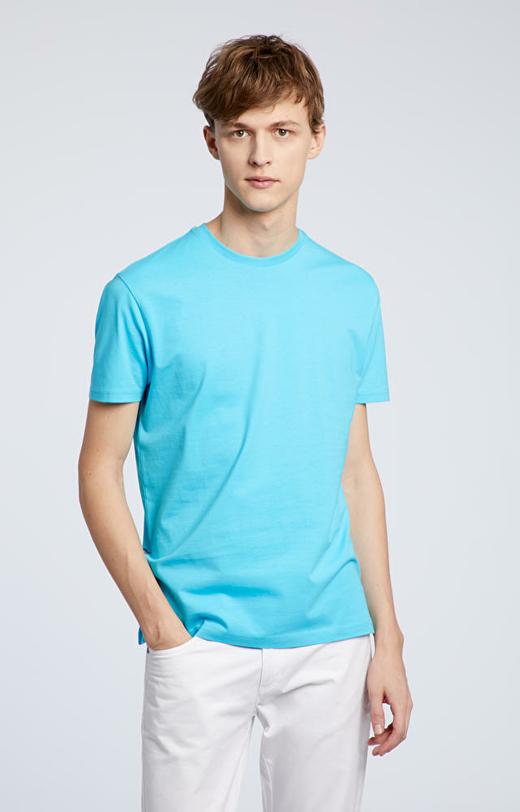Błękitny t-shirt WÓLCZANKA