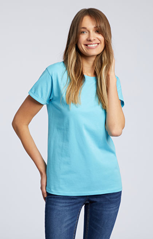 Niebieski t-shirt WÓLCZANKA
