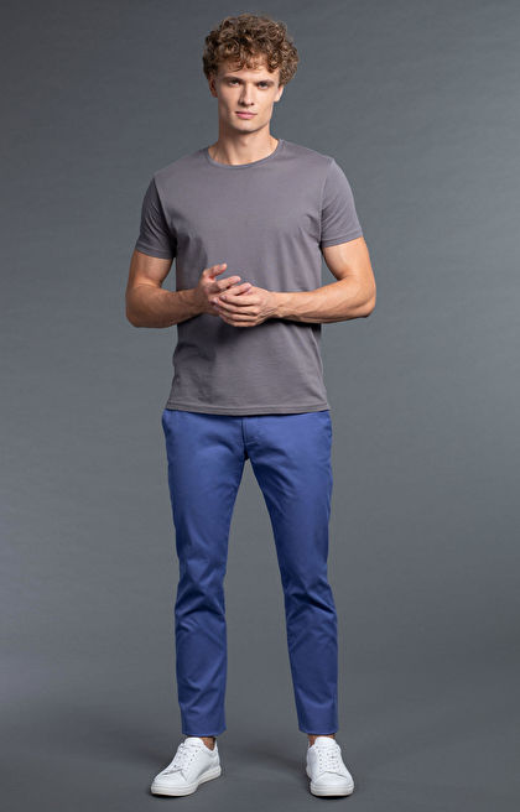 Niebieskie spodnie WÓLCZANKA