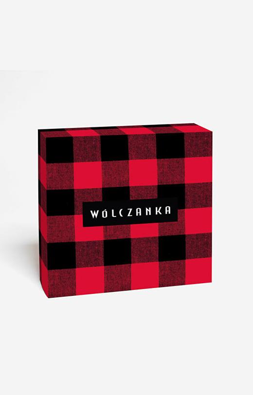Pudełko prezentowe kwadratowe duże WÓLCZANKA