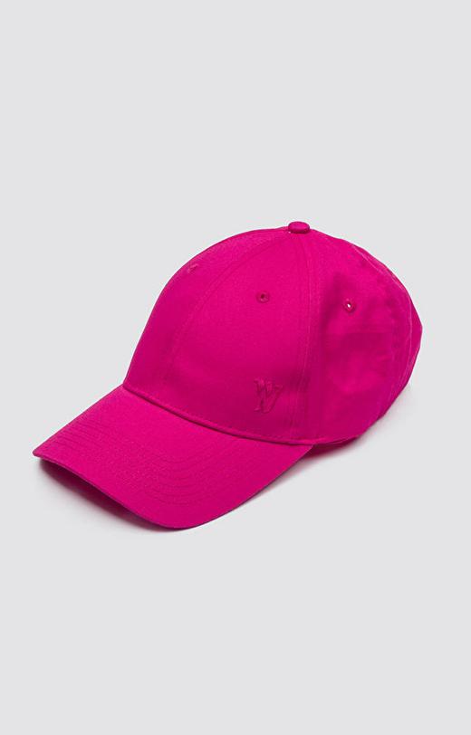 Różowa czapka z daszkiem WÓLCZANKA
