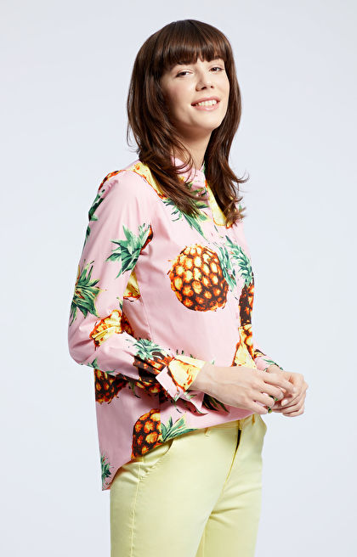 Różowa koszula damska WÓLCZANKA