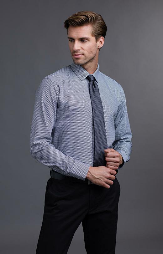Szara koszula męska WÓLCZANKA