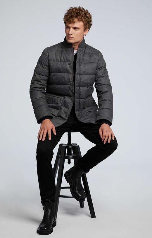 Zimowa kurtka z pikowaniem