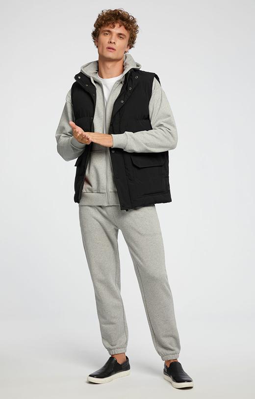 Szare spodnie dresowe WÓLCZANKA