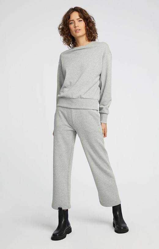 Szerokie spodnie dresowe