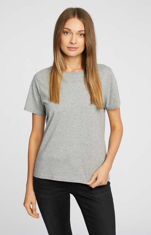 T-shirt z wiskozą