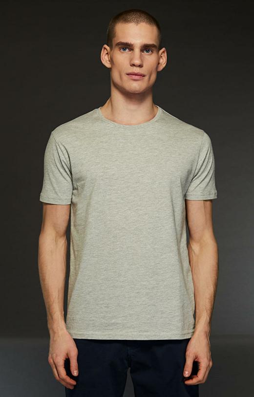 Szary t-shirt męski WÓLCZANKA