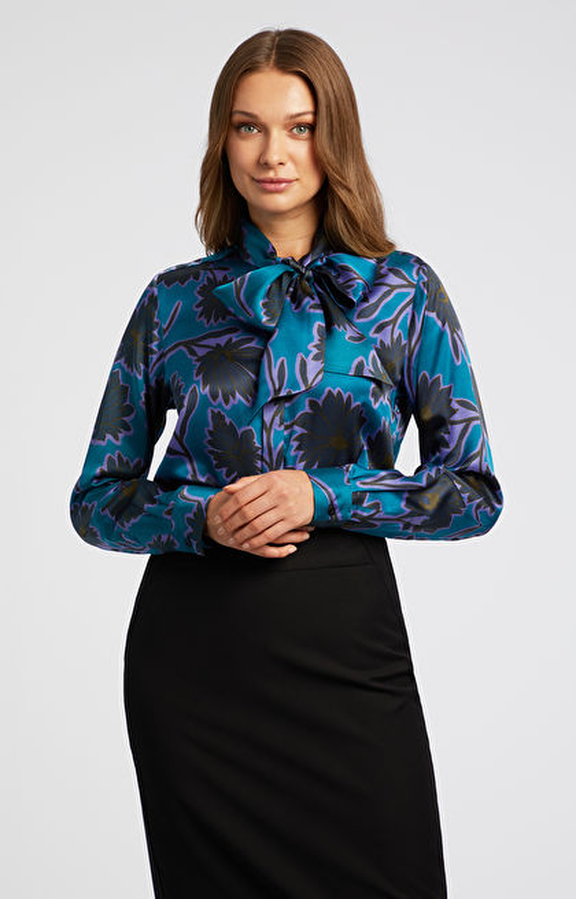 Koszula z jedwabiem LAMBERT