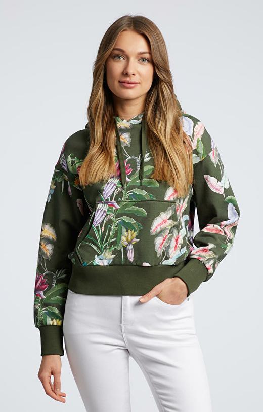 Zielona bluza WÓLCZANKA