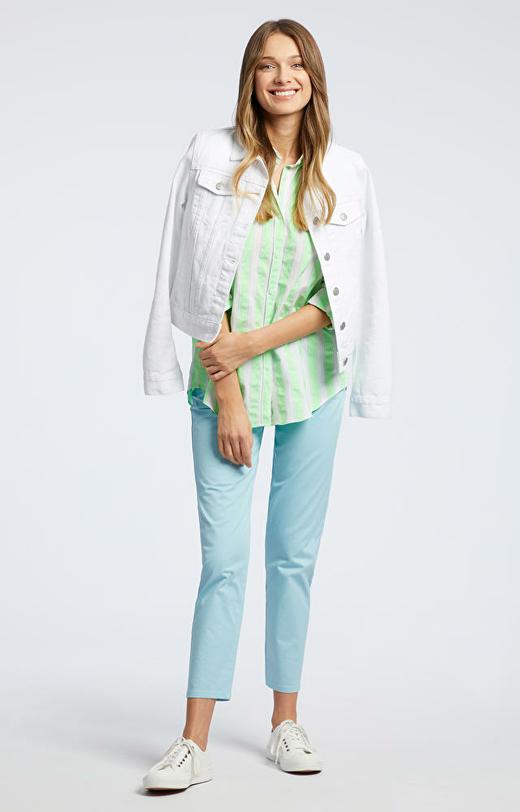 Zielona koszula damska LAMBERT