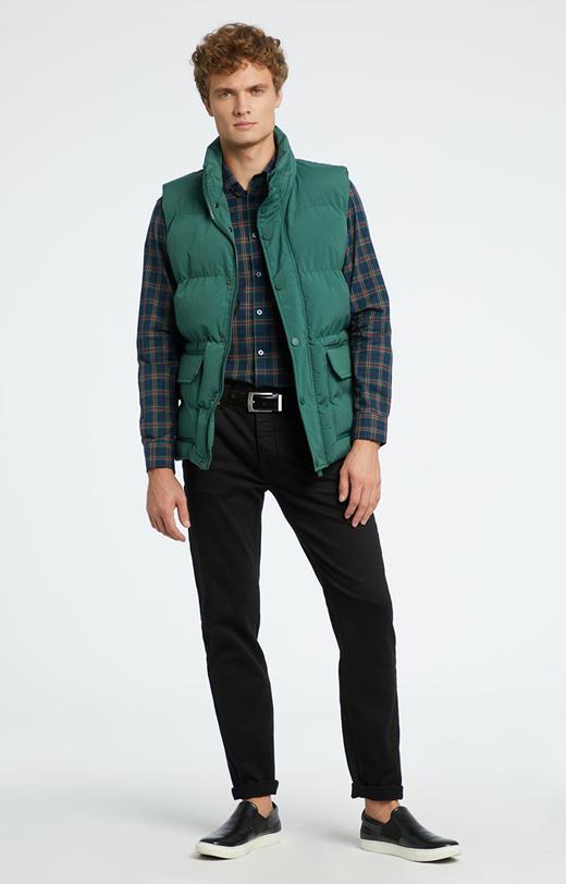 Zielona koszula męska WÓLCZANKA