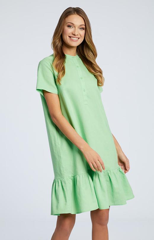 Zielona sukienka WÓLCZANKA