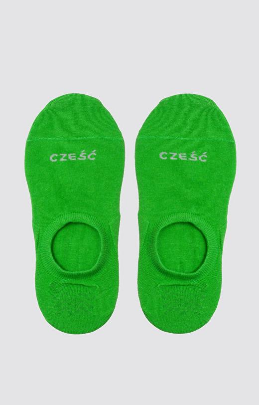 Zielone skarpety WÓLCZANKA