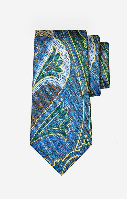 Zielony krawat LAMBERT