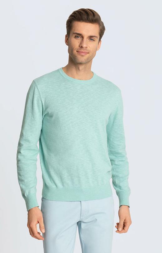 Zielony sweter WÓLCZANKA