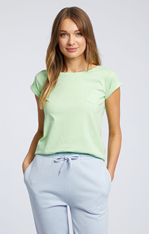 Zielony t-shirt WÓLCZANKA