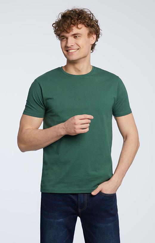 Zielony t-shirt męski WÓLCZANKA