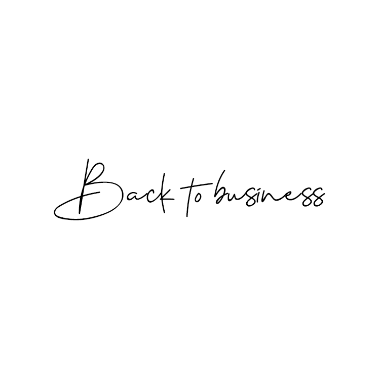 backtobusiness